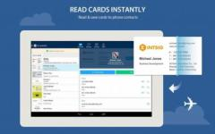 CamCard - Business Card Reader overall screenshot 2/6