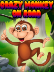 Crazy Monkey On Road New screenshot 1/3