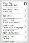 Young Adult EBook - School War screenshot 2/4