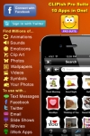 CLIPish Pro Suite - Millions of 3D Animations, Emoji, Emoticons, Sounds, Wallpapers & More screenshot 1/1