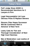 ABA Journal for iPhone/iPad screenshot 1/1