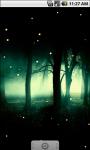 Cool Fireflies Live Wallpaper screenshot 1/4