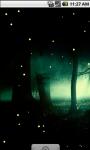 Cool Fireflies Live Wallpaper screenshot 2/4