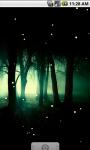 Cool Fireflies Live Wallpaper screenshot 3/4