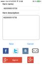 QR and Bar code scanner for iOS screenshot 3/5