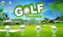 Golf Championship II screenshot 1/4