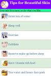 Tips for Beautiful Skin screenshot 2/3