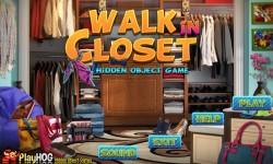 Free Hidden Object Games - Walk In Closet screenshot 1/4