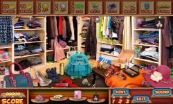 Free Hidden Object Games - Walk In Closet screenshot 3/4