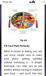25 Diet Tips screenshot 3/3