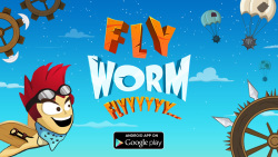 Fly Worm Fly screenshot 1/6