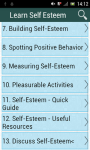 Learn Self Esteem screenshot 1/3
