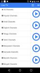 Live TV Indian Channels screenshot 1/1