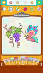 Free Butterfly Coloring Pages  screenshot 4/5
