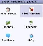 CleanBold - live cricket scores screenshot 1/1