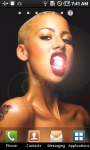Amber Rose Live Wallpaper screenshot 1/3