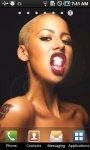 Amber Rose Live Wallpaper screenshot 2/3