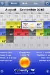 WeatherSnitch screenshot 1/1