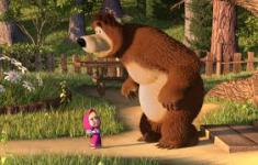 Masha and The Bear Cute Wallpapers  screenshot 6/6