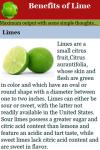Benefits of Lime screenshot 4/4