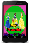 Most Favourite Disney Princes screenshot 1/3