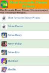 Most Favourite Disney Princes screenshot 2/3