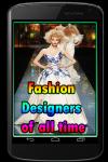Fashion Designers of all time screenshot 1/3