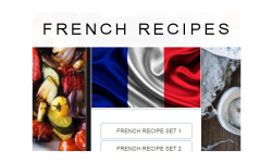 French recipes food screenshot 1/3