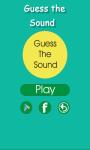 Guess That Sound screenshot 1/6
