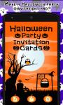 Halloween Party Invitation Cards screenshot 1/3