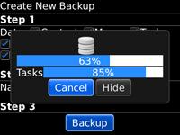 DataBackup BETA screenshot 1/1