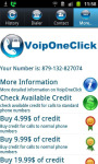 Voip One Click screenshot 2/3