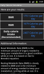 Daily Calorie Calculator for Android screenshot 6/6