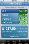 Gold Tracker screenshot 1/1