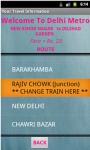 Delhi Metro App screenshot 3/4