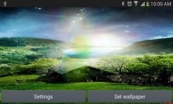 Nature live wallpaper Meteors screenshot 3/4