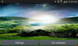 Nature live wallpaper Meteors screenshot 4/4