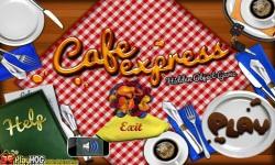 Free Hidden Object Game - Cafe Express screenshot 1/4