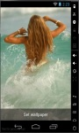 Lovely Waves Live Wallpaper screenshot 2/2