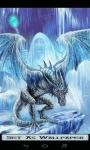 Ice Dragon Wallpaper 4k screenshot 1/6