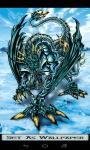 Ice Dragon Wallpaper 4k screenshot 5/6
