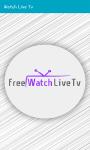 Watch Live Tv App screenshot 1/2