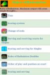 Rules of Badminton screenshot 2/3