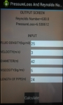 PressureLoss And Reynolds Number Calculator screenshot 1/3