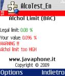 AlcoTest screenshot 1/1