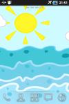 Sea waves Live Wallpaper screenshot 1/2