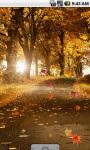 Autumn Road Cool Live Wallpaper screenshot 1/4