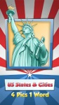 US States-Cities:4 Pics 1 Word screenshot 1/5