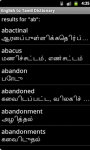 English to Tamil Dictionary on Android screenshot 4/4