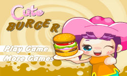 Cute Burger 1 screenshot 1/6